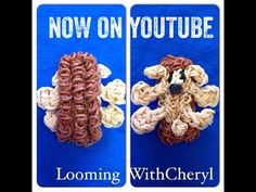RAINBOW LOOM - CHARM - FIGURE - ANIMAL - HEDGEHOG