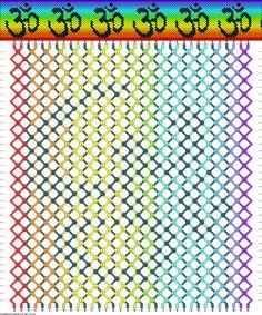 Friendship Bracelets Net Patterns | 40106 - friendship-bracelets.net
