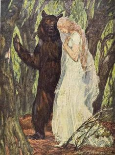 The Faery Prince. Illustration by Adolf Münzer. From Jugend magazine, 1925.