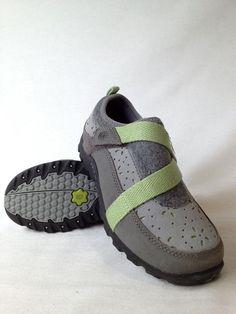 New Big Kid Girl Teva Gray Casual Hiking Trail Shoe Size 4/34 6248 #Teva #CasualShoes