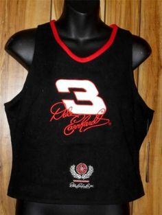 NWT Woman's NASCAR Dale Earnhardt #3 Sleeveless Halter Style Top Chase Size 2XL