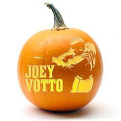 Joey Votto- Reds baseball pumpkin stencils!!