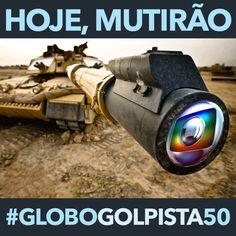 Faz 31 anos que a Globo transformou o comício das Diretas em festa de aniversário de São Paulo #GloboGolpista50 pic.twitter.com/nqo7q6U1Fb
