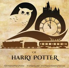 Happy 20 years Harry Potter ! It was and still is an amazing experience ! Thank you for everything #lifechanging #HarryPotter20 #Hufflepuff