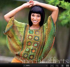 Part knit, part crochet, but a very cool idea.  Butterfly Dreams - Knitter's Magazine 107, Summer, 2012