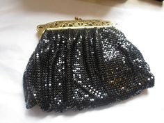 Art Deco Retro Whiting and Davis 1950s Mesh Purse by AlwaysSeeking, $120.00