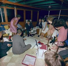 The party aboard the Sequoia included dinner, dancing and the president's pursuit of a legendary Washington journalist's wife.