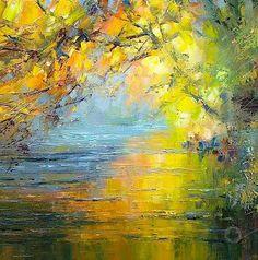 Pixelle.co: Rex Preston #art #painting #impressionism