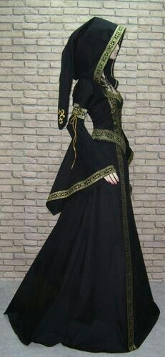 Medieval robe, costume,