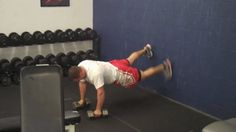Advanced Push Up Series - Wall Walkers