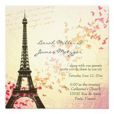Las 8 Mejores Imágenes De Invitaciones 15 Años Paris