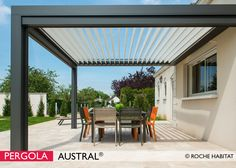 1000 images about pergola alu bioclimatique lames orientables on pinterest pergolas. Black Bedroom Furniture Sets. Home Design Ideas