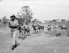The Mau Mau Uprising, also known as the Mau Mau Revolt, Mau Mau Rebellion or Kenya Emergency, was a military conflict that took place in Kenya[B] between 1952 and 1960. It involved Kikuyu-dominated groups summarily called Mau Mau and elements of the British Army, the local Kenya Regiment mostly consisting of the British, auxiliaries and anti-Mau Mau Kikuyu. The capture of rebel leader Dedan Kimathi on 21 October 1956 ...