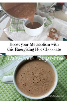 The creamiest and dreamiest healthy hot chocolate recipe full of nourishing…