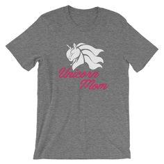 Unicorn Mom T-Shirt UNISEX Unicorn Mommy Shirt Funny Mothers | Etsy Unicorn Mom, Unicorn Shirt, Cute Unicorn, Unicorn Themed Birthday Party, Birthday Party Themes, Matching Shirts, Mom Shirts, Mom Humor, Special Gifts