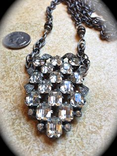 Beautiful vintage statement necklace