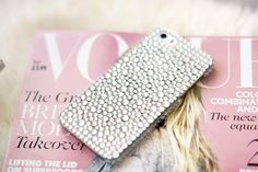 ♡ Breakfast at Sadie's ♡ Girly Phone Cases, Iphone Cases, Lolita Fashion, Phone Accessories, Pink, Technology, Heart, Image, Diamonds