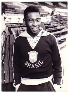 Pele. The most beautiful thing today was watching Pele on Jon Stewart. A beautiful and kind man. His admiration and desire to emulate his father so reminded me of Joao and the sweetness and joy of Brasil. Alegria. His book is Why Soccer Matters. 4/03/2014.