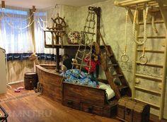 Детские комнаты в виде корабля фото