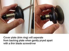 Repairing a Loose Door Handle | Household, Doors and Door handles