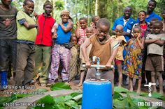 Trying to raise awareness for the struggles within the Congo. We have partnered with local water well drilling teams to bring hope, freedom and clean water to those struggling to survive in a country torn apart. Please watch the video at http://www.endthethirst.org/congo/ to better understand the issues.