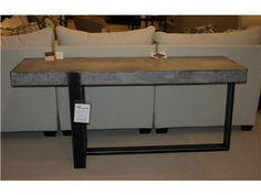Shop for Goods Furniture Outlet Bina Console Table by Four Hands, VBNA-CO274, and other Living Room Tables at Hickory Furniture Mart in Hickory, NC. Item Location: Hickory Store - Phone: (828) 855-3220 Limited availability. Please call for details.$949.00