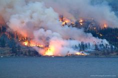 year of the wildfare that almost took out the city of Kelowna, British Columbia. Mother Nature at her best.and at her worst! Victoria Vancouver Island, Vancouver City, Cool Countries, Countries Of The World, Camp America, O Canada, True North, Great Britain, British Columbia