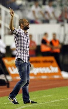 ex-FC Barcelona manager and former player Pep Guardiola. Hottie.