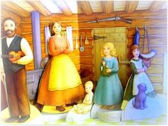 paper dolls Little House Crochet Christmas Garland, Paper Dolls, Childhood Memories, Arts And Crafts, Clip Art, Disney Princess, Fun, Laura Ingalls, Painting