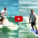 ¿PERROS PRACTICANDO SURF? ¡INCREÍBLE! ¡LO HACEN HASTA CON ACROBACIAS INCLUIDAS!