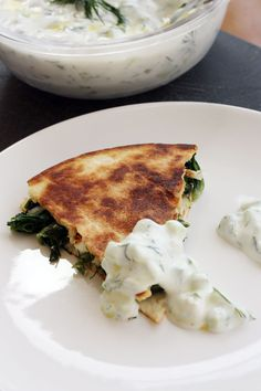 At this point, we're just looking for anything we can to put tzatziki sauce on. Get the recipe from Scrummy Lane.   - Delish.com Greek Recipes, Milk Recipes, Veggie Recipes, Vegetarian Recipes, Healthy Recipes, Cooking Recipes, Carnitas, Barbacoa, Horchata
