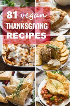 81 Vegan Thanksgiving Recipes