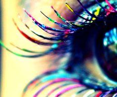 Eyelash colours