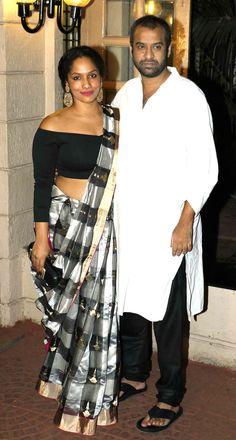 Masaba Gupta and Madhu Mantena at Ekta Kapoor's #Diwali bash. #Bollywood…