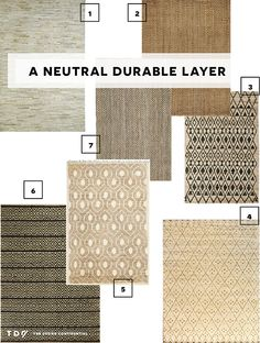 The Great Rug Caper // Finding My Neutral Durable Layer | The Design Confidential