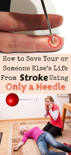 Here's How to Save Your or Someone Else's Life From Stroke Using Only a Needle - FHL
