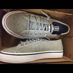 Kid Keds shoes Quilted grey Keds brand new never been worn keds Shoes Athletic Shoes