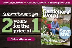 BBC Gardeners' World Magazine - 2 Years for the Price of 1 Garden Club, Garden Beds, Brick Garden Edging, Barbecue Design, Growing Lavender, Welcome Letters, Subscription Gifts, Gardening Magazines, Plant Supports