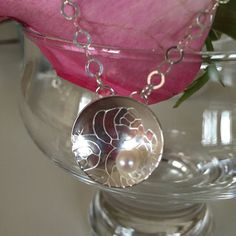 Rose's And Pearl's  by Pat Tinnin on Etsy