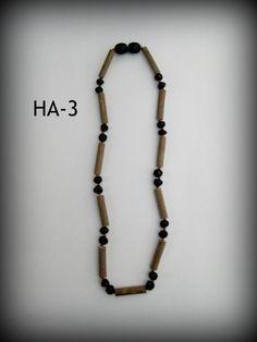 Hazelwood & Baltic Amber Teething Necklace ~ HA-3 ~ $18