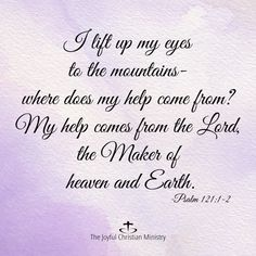 """""""LORD, we look to You as the giver of life. You alone have the living water that sustains us in a sometimes dry and weary land. Psalm 121, Psalms, Living Water, Heaven On Earth, Facebook Sign Up, Joyful, Ministry, My Eyes, Jesus Christ"""