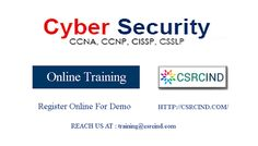 #CYBER #SECURITY #ONLINE #TRAINING AT #CSRCIND . The scope of our #training is to deliver good #subjective knowledge for our #students with efficient & dedicated #trainers .  OBJECTIVE: To assess the experience of practical knowledge on the #subject with real time examples which is beneficial for the #student in handling future #projects .  CONTENT : Register through our website or feel free to call us .  REACH US : 7207743377 / training@csrcind.com