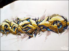 Super Drawing by RASKO by Dmitry Rasko, via Behance