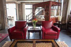 Anne & Leo's Cozy Cosmopolitan Loft — House Tour | Apartment Therapy
