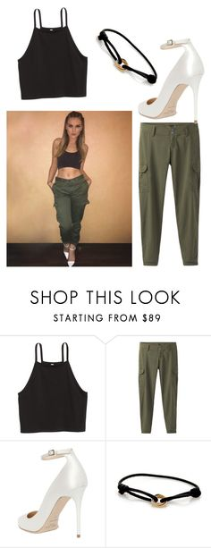 """Get The Look- Perrie Edwards"" by definitelyalien ❤ liked on Polyvore featuring H&M, prAna, Jimmy Choo and Cartier"