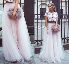 2016 2015 Spring Summer Plus Size Long Length Ruched Adult Tutu Tulle Bust Skirt…