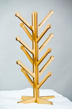 """CURRENT LEAD TIME ON HAT RACK ORDERS IS 5-7 BUSINESS DAYS. We apologize for the delay.Made from High-Quality, Cabinet-Grade Baltic Birch PlywoodDimensions: Approx. 16"""" wide x 30"""" tallCollapsible into 2 interlocking pieces that lay flat for easy packing/storingSold in packs of 2 complete hatracksStable & SecureHandmade in the United StatesAdditional shipping charge applies for HAT RACK ORDERS outside of the 48 contiguous states."""