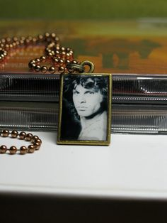 Jim Morrison Reversable Necklace Pendant on Copper by rockujewels, $12.95
