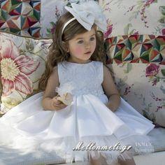 Dolce Bambini - Βαπτιστικό φόρεμα Puppet, κωδ. 490-1 Girls Dresses, Flower Girl Dresses, Wedding Dresses, Fashion, Dresses Of Girls, Bride Dresses, Moda, Bridal Gowns, Fashion Styles