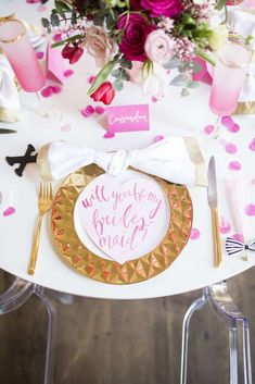 This party is the most most adorable way to ask friends to be bridesmaids. Absolutely fabulous!! See more party ideas and share yours at CatchMyParty.com